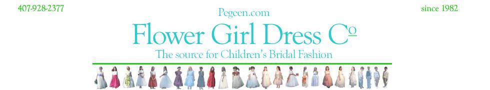 Pegeen.com Flower Girl Dress Company